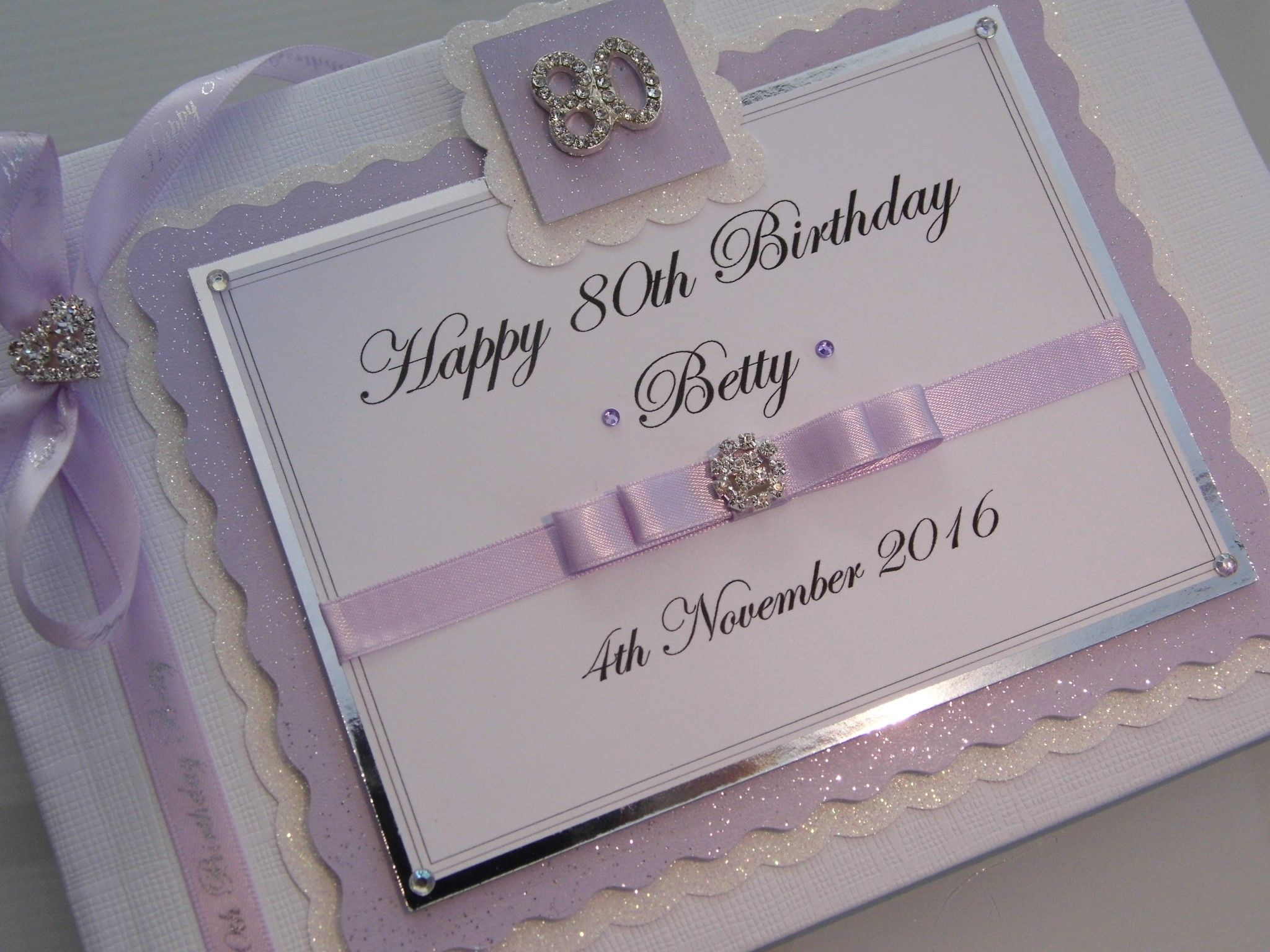 Personalised 80th Birthday Guest Book ~ 013005_Birthday Party Guest Ideas