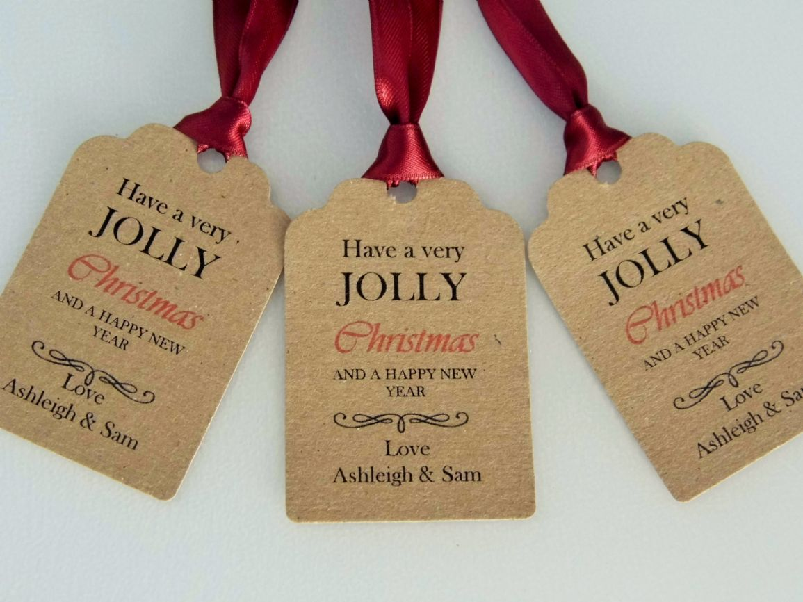 personalised christmas gift tags - Rainforest Islands Ferry