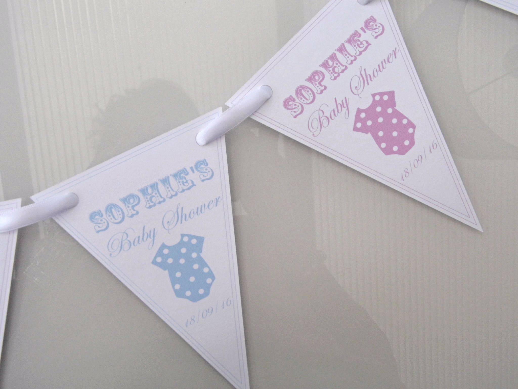 fd74943f3 Baby Shower Paper Bunting