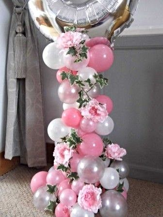 Organic Balloon Displays