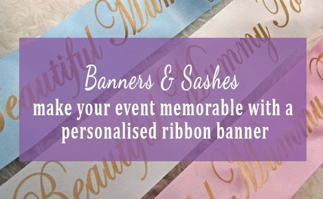 Banners & Sashes